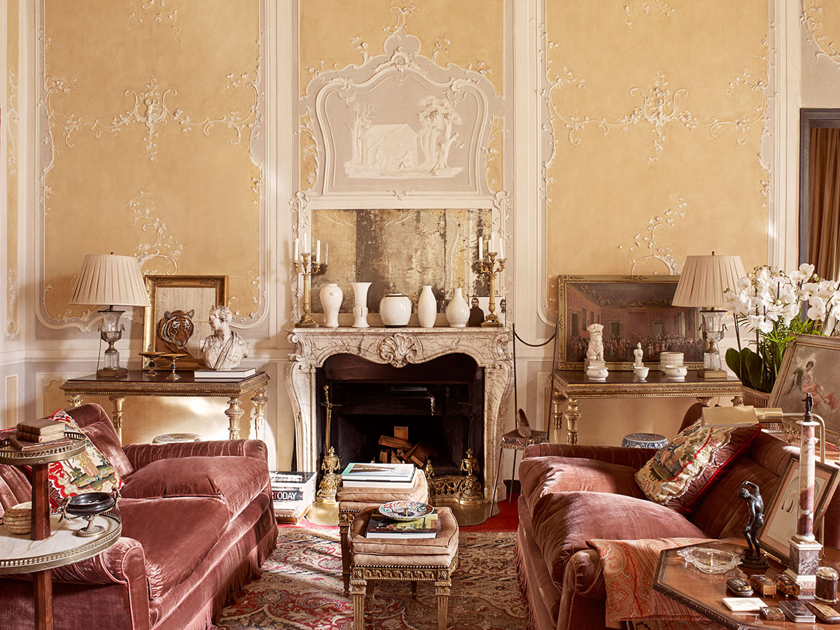 Architectural digest italia italian palazzo luis ridao - Interior design italia ...